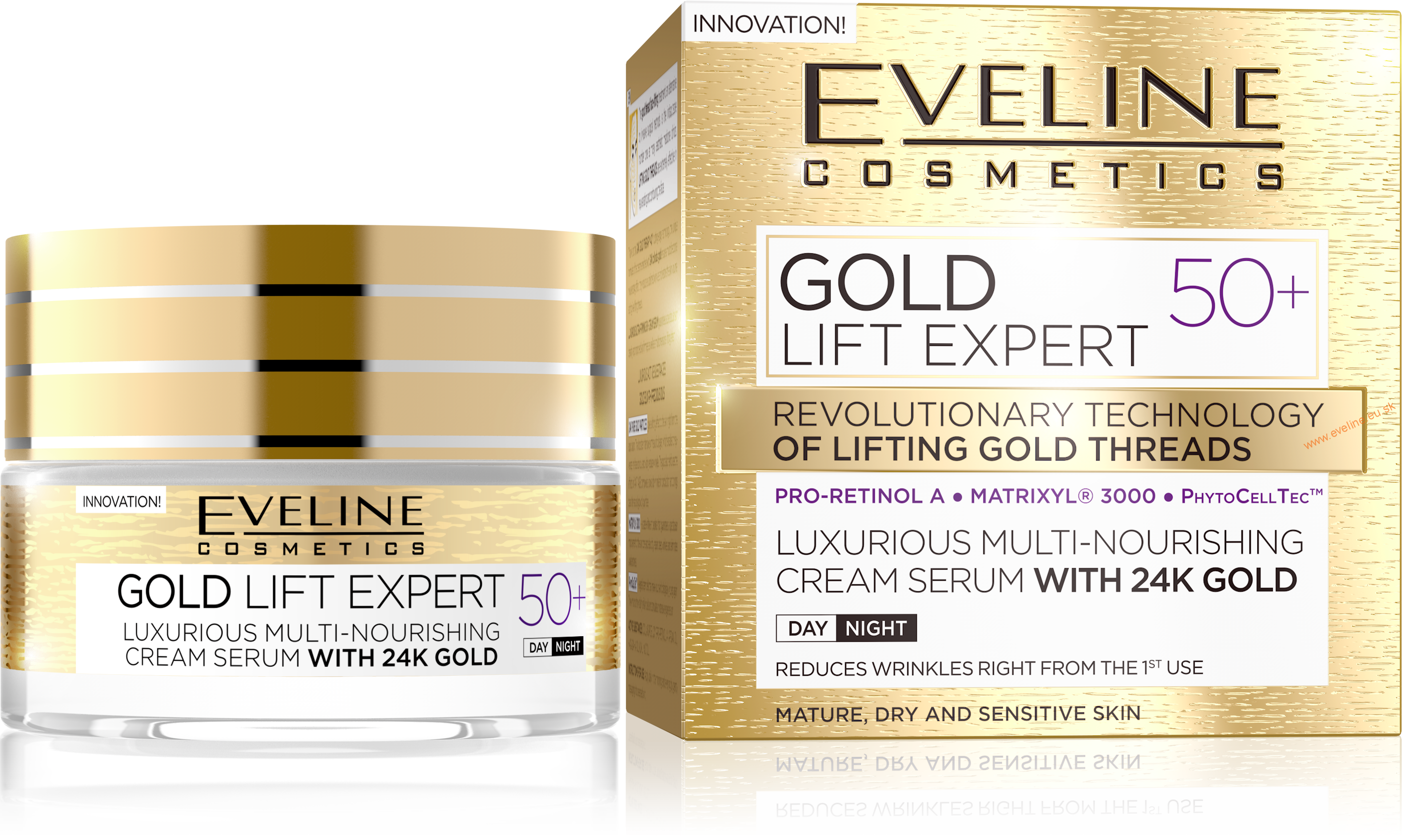 EVELINE Gold Lift Expert 50+