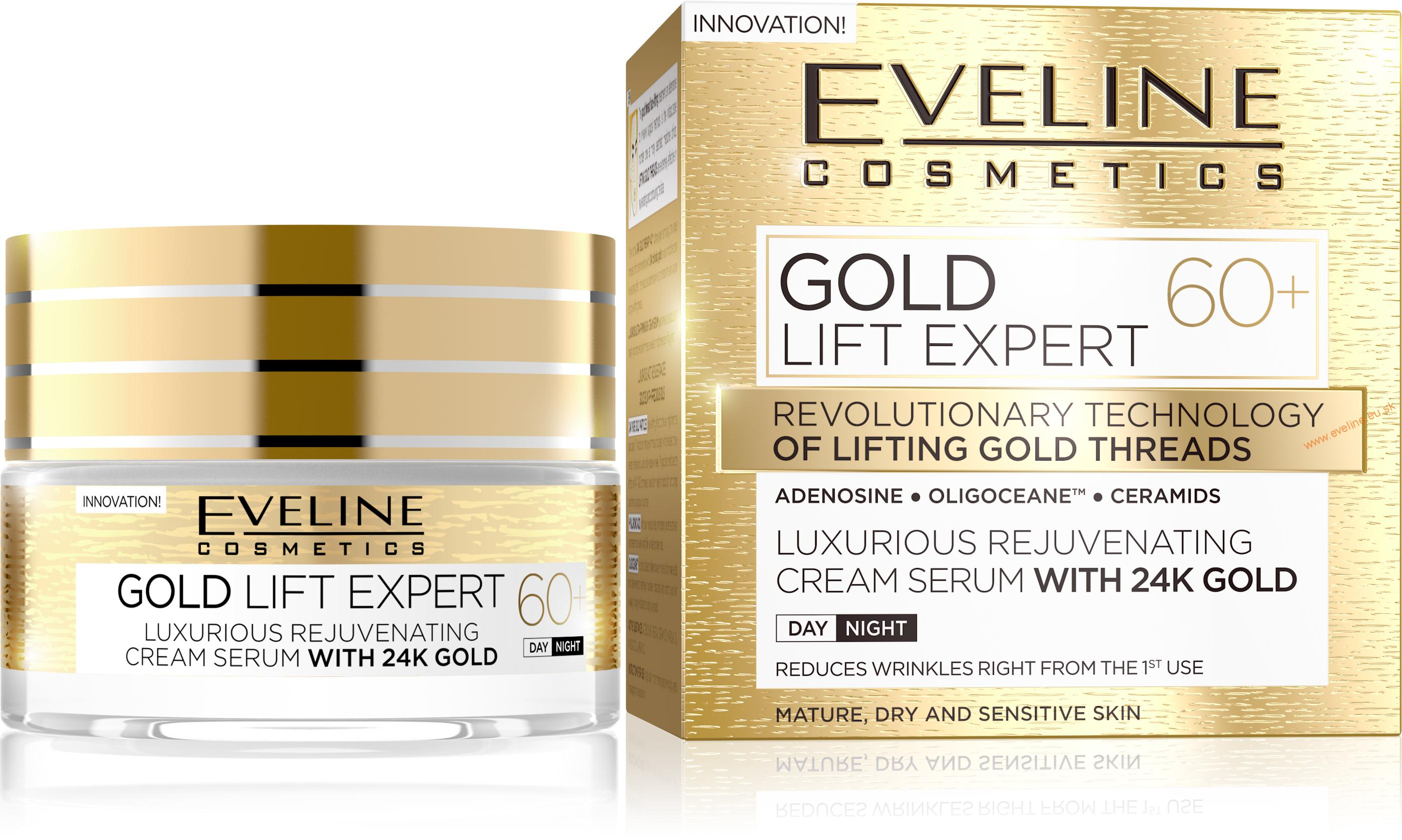 EVELINE Gold Lift Expert 60+