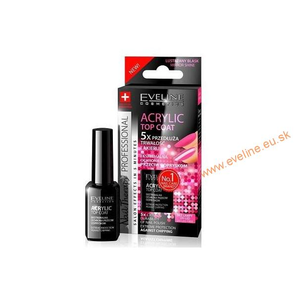 EVELINE lak na nechty ACRYLIC TOP COAT
