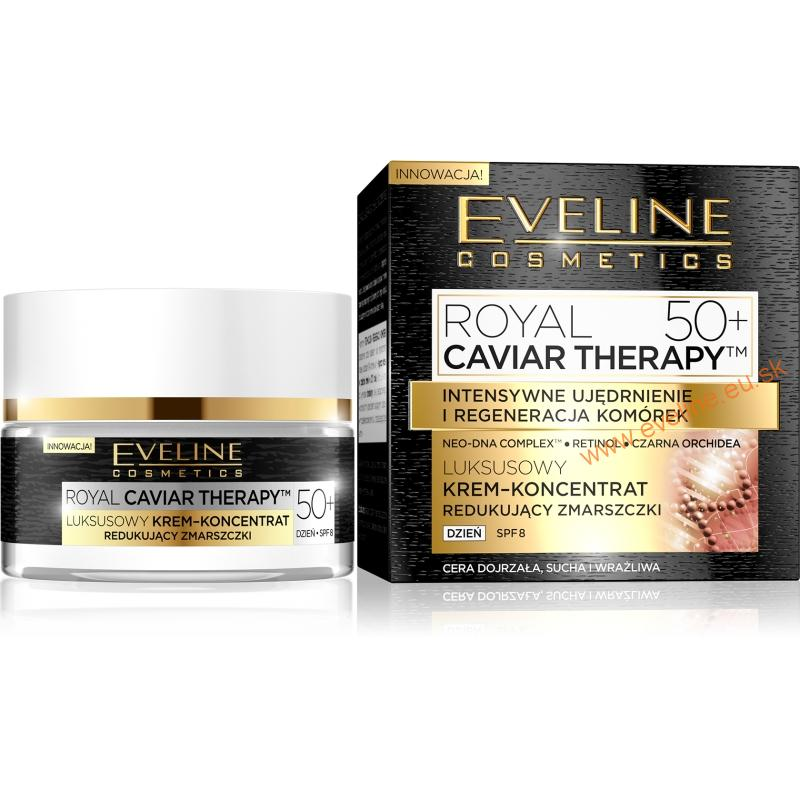 EVELINE Royal Caviar Therapy denný krém 50+