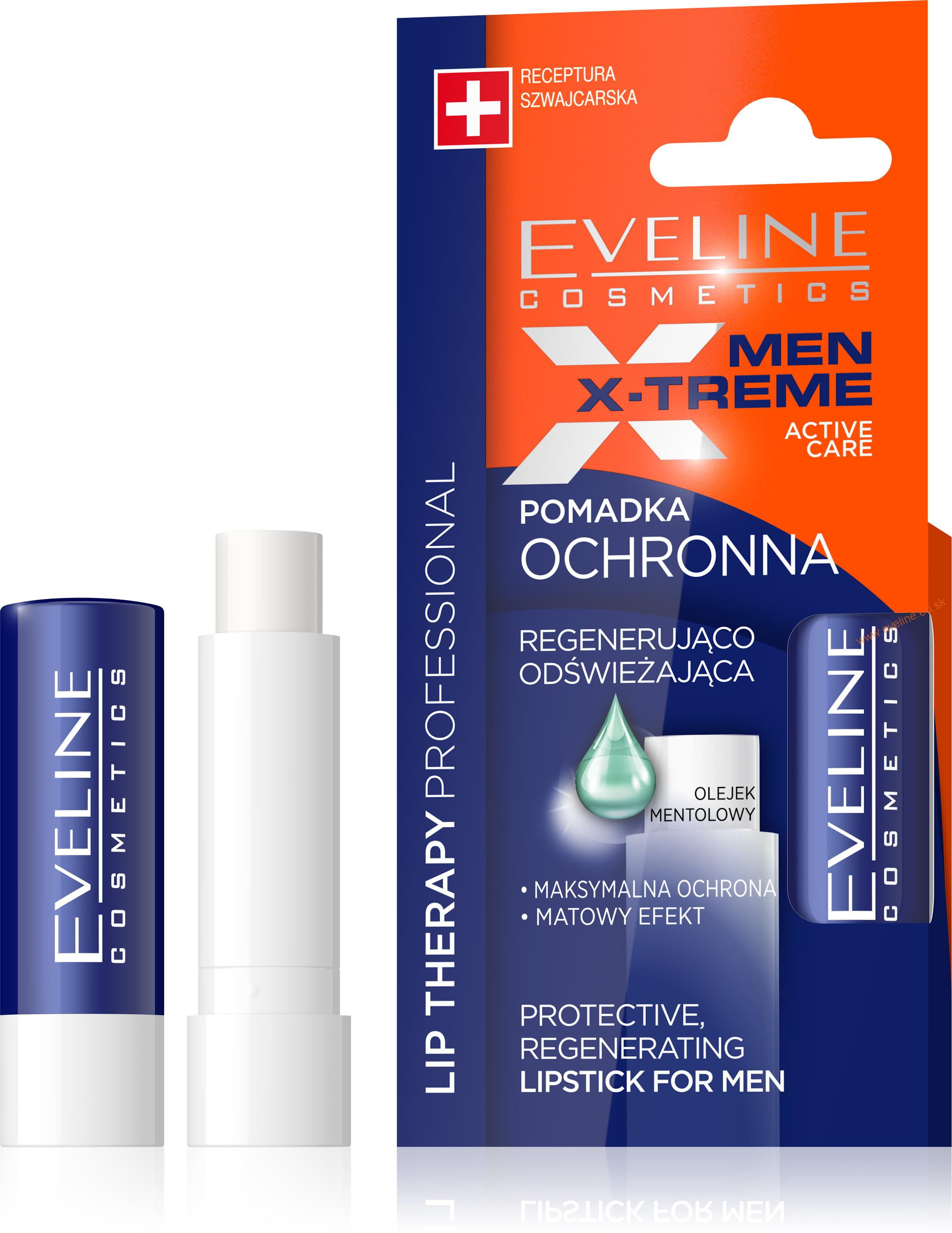 EVELINE Lip Therapy PROFESSIONAL balzam na pery MEN XTREME