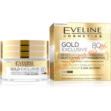 EVELINE Gold Lift Expert 80+