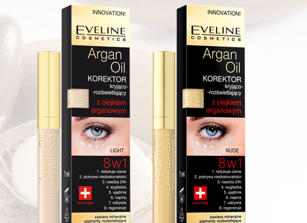 EVELINE Argan Oil korektor pod oči 8v1