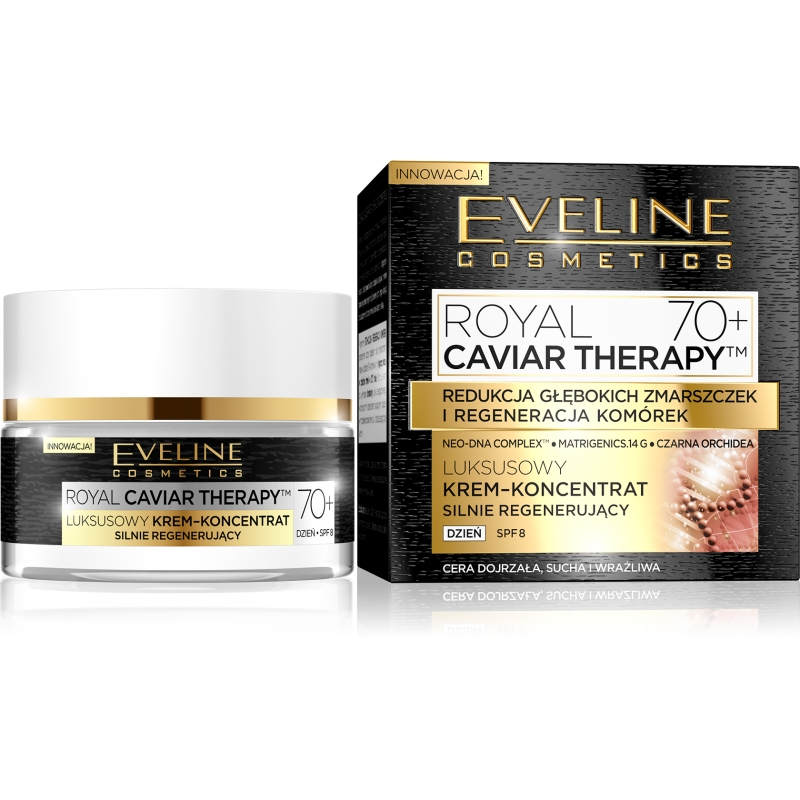 EVELINE Royal Caviar Therapy denný krém 70+