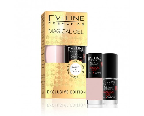 EVELINE EXCLUSIVE EDITION lak na nechty MAGICAL GEL