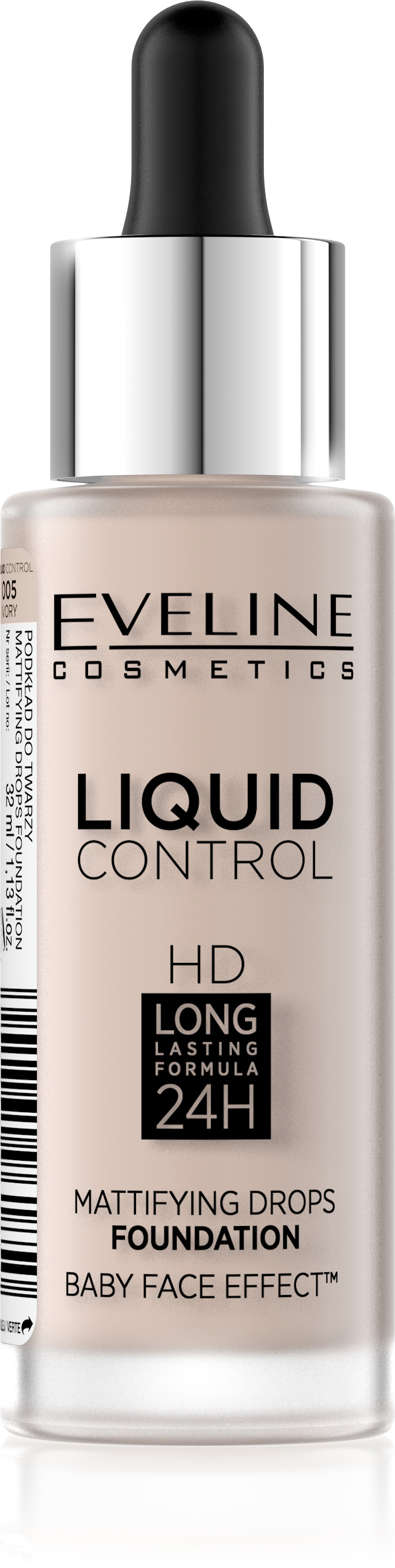 EVELINE Liquid Control HD 24h podklad make-up