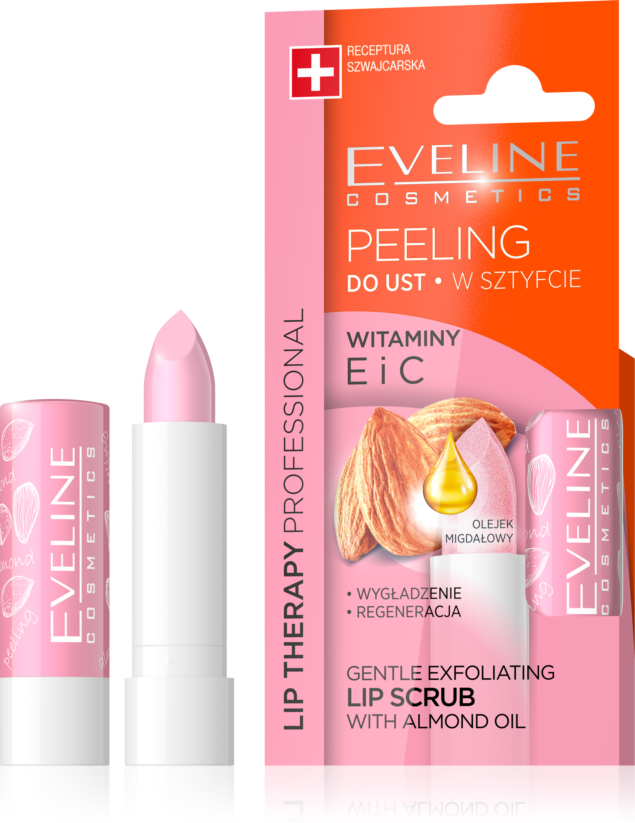 EVELINE Lip Therapy PROFESSIONAL peeling na pery