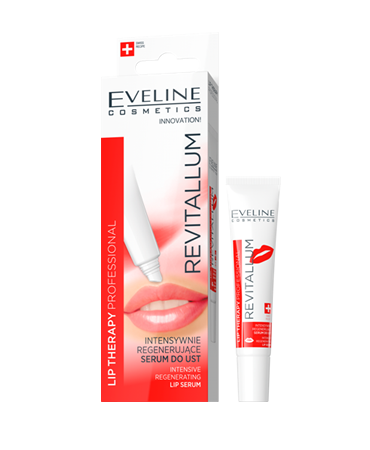 EVELINE Lip Therapy PROFESSIONAL regeneračné sérum na pery REVITALLUM