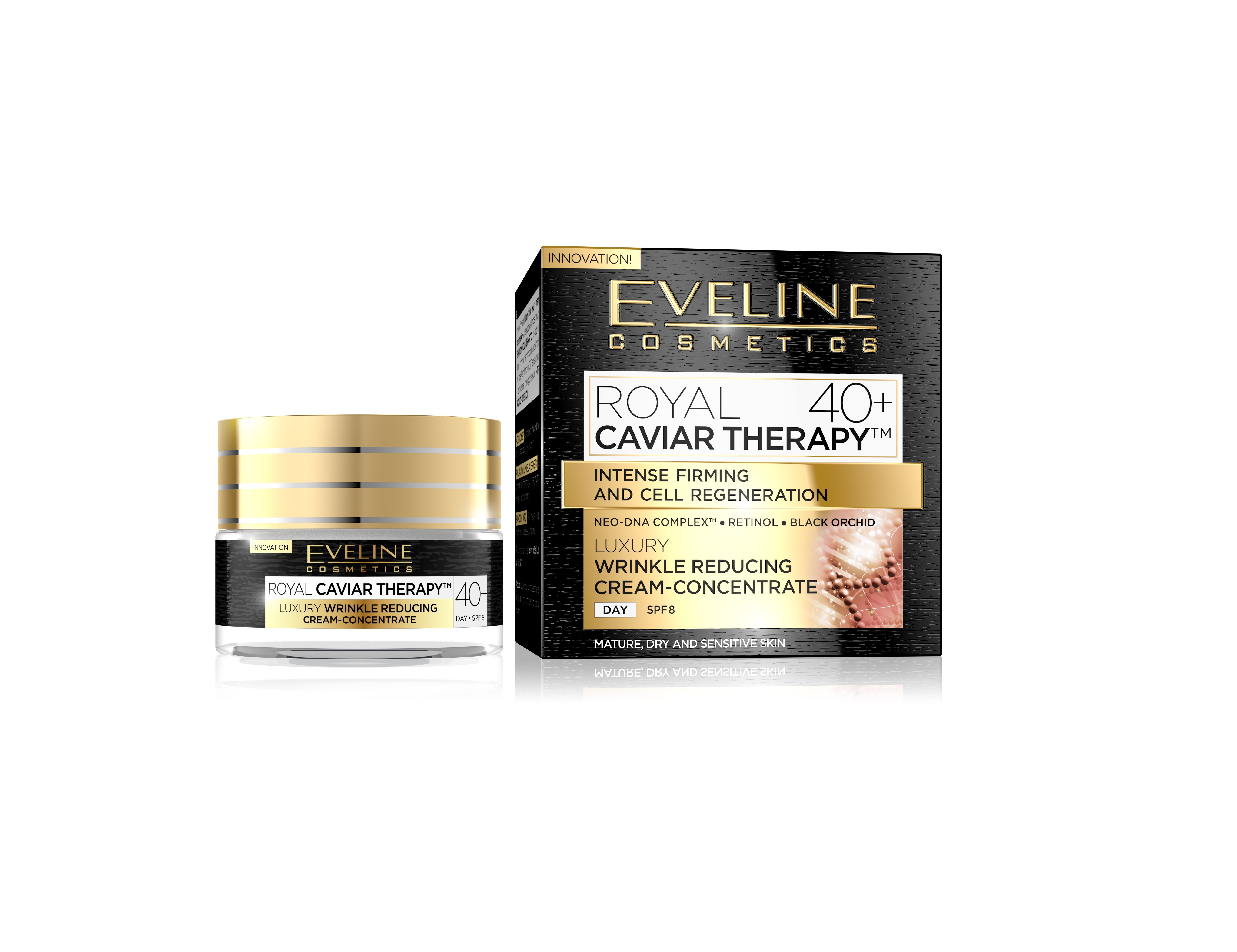 EVELINE Royal Caviar Therapy denný krém 40+