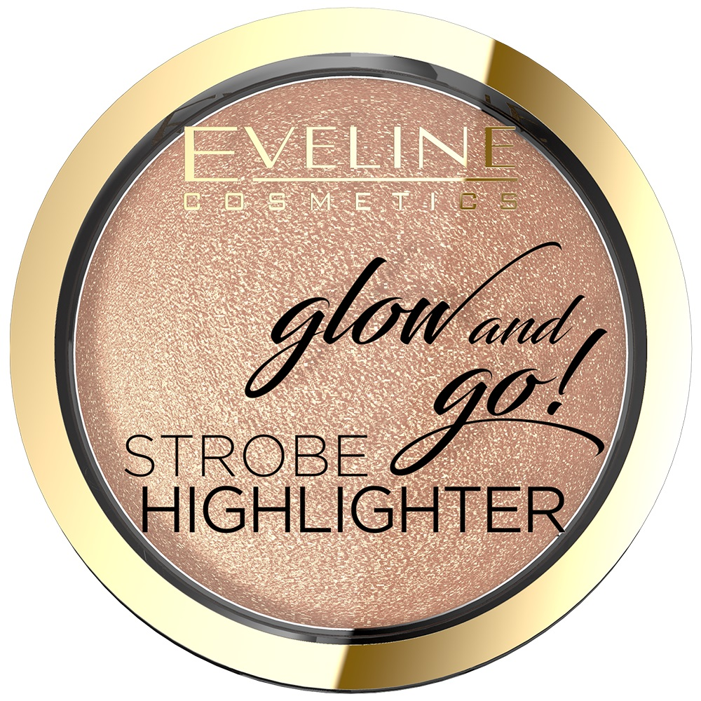 EVELINE GLOW and GO! rozjasňujúci púder 02 GENTLE GOLD