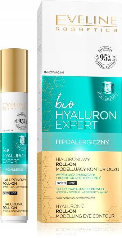 EVELINE bio Hyaluron Expert liftingový očný roll-on